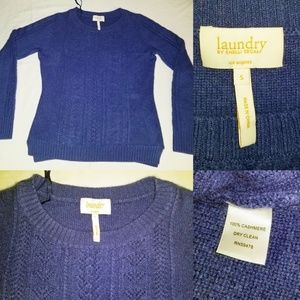 Laundry Shelli Seagal Los Angeles Cashmere Sweater